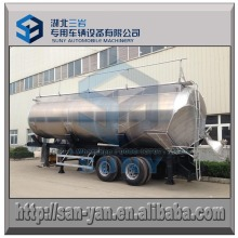 Food Grade 2 Axle Tipping Syrup Tanker Trailer