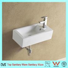 China Lavabo de lavabo de la lavabo de la pared del cuarto de baño del fabricante