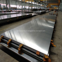 Plaque composite 1050 aluminium polymétallique avec acier inoxydable
