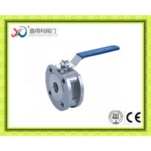 Italy Wafer Stainless Steel 316 Thin Valve with Low Pressure