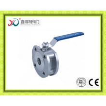 Тонкий клапан из нержавеющей стали Wafer из нержавеющей стали 316 с низким давлением