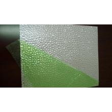 Decorative aluminum sheet Metal embossing glitter supplies