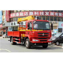 DFAC 6ton Telescopic Boom Truck Cranes