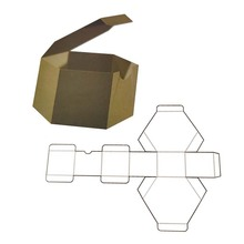 Caja de embalaje de pastel profesional por encargo
