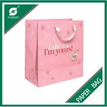 Customized Logo Color Printing Paper Bag
