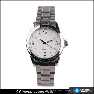 classic mens stainless steel band watch bracelet
