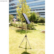 portable solar street light