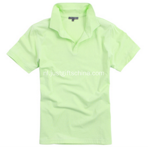 Promotionele gemerkte Cotton poloshirt