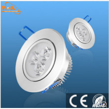 3W Energy Saving Aluminium Downlight pour scène
