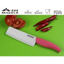 Cutelo de cerâmica de 6 polegadas de faca de cozinha
