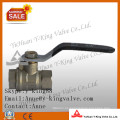 Válvula de bola de cobre de cobre amarillo para las válvulas (YD-1017)