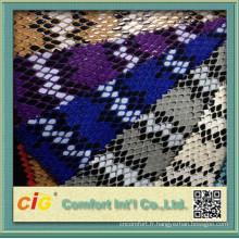 Utilisation de sac à la mode serpent PU cuir