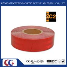 Cinta reflectante roja de visibilidad DOT-C2 para camión (CG5700-OR)