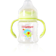 5oz Baby Tritan Feeding Bottle With Handle
