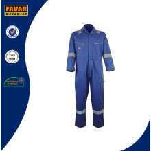 Mens Cotton Drill Fire Retardant Overalls Miner Workwear in Öl / Gas Feld