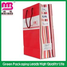 artesanía de pavo de bolsa de papel de diseño de moda de alta calidad