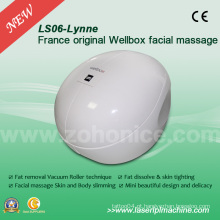Máquina branca da beleza da massagem do corpo de Wellbox do branco de Ls06 France