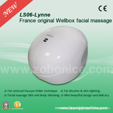 Ls06 Франция Оригинальная белая салфетка для массажа тела Wellbox