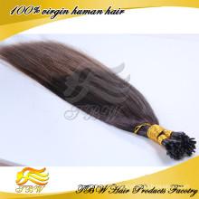 Cabelo humano de 5 estrelas Remy eu derrubo a cor 100grams de Ombre das extensões do cabelo humano