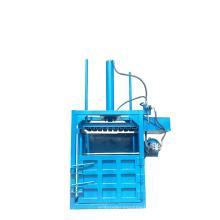 Double Stations Vertical Hydraulic Pet Bottle Pressing Machine Scrap Baler for Export