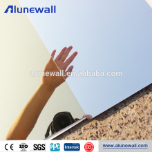 Haute Qualité 3mm 4mm 5mm 6mm Miroir Fini Fabricant En Huzhou Acm panneau composite en aluminium