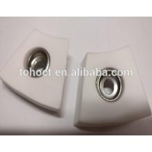Pliage radian Al2o3 Ceramic Welding carreaux de céramique plaque de brique