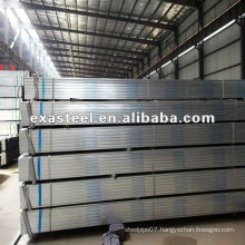 SCH 80 Carbon Steel Pre Galvanized Square Pipe/tube