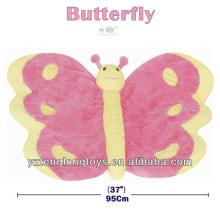 Top 10 Cadeaux Soft Butterfly Plush Baby Animal Floor Mat