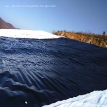 30mils HDPE geomembrans como revestimiento de estanques de peces