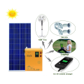 300W 220v portable solar power DC and AC system