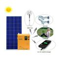 Sistema solar da CC e da CA da energia solar de 300W 220v