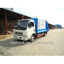 Caminhão de lixo 6000L, caminhão compactador de lixo, caminhão de compressão de lixo