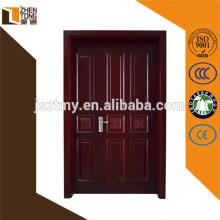 Porte en bois solide moderne adaptée aux besoins du client favorable à l'environnement