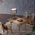 High Quality Solid Wood Cafe Tables and Chairs (SP-CT589)