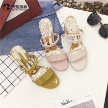 China supplier footwear nude indian girls picture slippers women shoes 2017