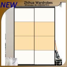 Современная гардеробная гардеробная 2 раздвижные двери