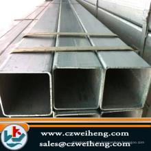tubo de acero cuadrado galvanizado de estructura de acero