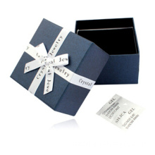 Handmade Blue Paper Jewelry Watch Gift box