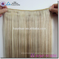 Vente chaude Direct usine En Gros 120G 140G 160G 180G Personnalisé Double Dessiné Épais Fin Remy Clip En Extension De Cheveux