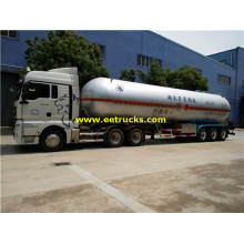Reboques do transporte de 49m3 27ton NH3