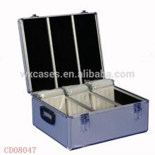 haute qualité & forte de 600 CD disques en aluminium CD affaire en gros fabricant, Chine