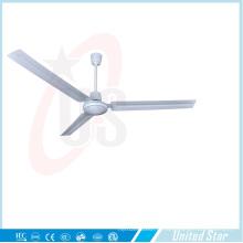 56''dc ventilateur de plafond solaire Ventilateur de refroidissement 5 vitesses