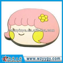 Lächelngesicht Cartoon PVC-Spiegel für Mädchen Party Dekoration