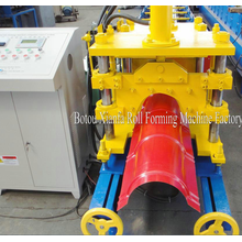 High Quality for Aluminum Metal Roof Ridge Cap Roll Forming Machine Glazed Metal Roof Ridge Cap Roll Forming Machine export to Burkina Faso Importers