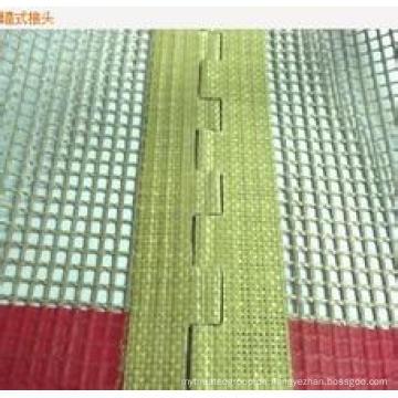 Wandverbindung für PTFE-beschichtetes Glasfasergewebe