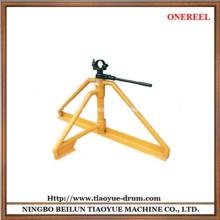 soporte de elevación del tambor de cable