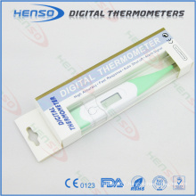 Henso electronic thermometer with flexible probe