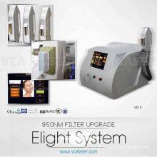 máquina da remoção do cabelo da luz e do laser