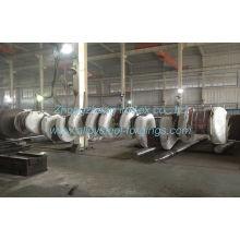 Gb/t3077-1999 Astm 25mn, 34crnimo6 Alloy Steel Industrial Forging Shaft Crankshaft 30 Ton