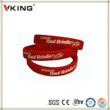 Nouveaux produits innovants bracelet en silicone Chine